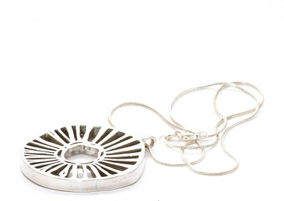 Sun Wheel women's jewelry - Scandinavian Design